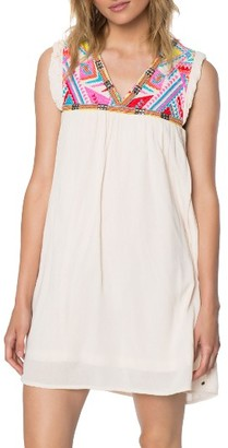 Women's O'Neill Cove Embroidered Swing Dress $64 thestylecure.com