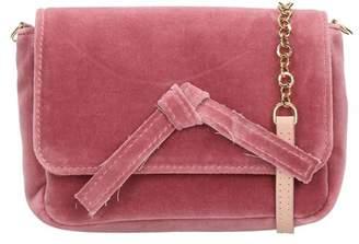 L'Autre Chose Pink Velvet Mini Bag