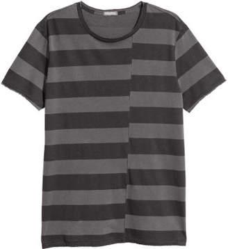 H&M Striped T-shirt - Gray