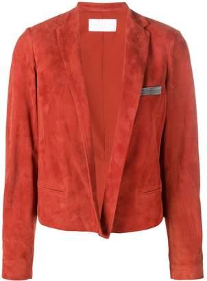 Fabiana Filippi short suede jacket