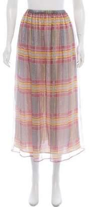 Philosophy di Lorenzo Serafini Silk Midi Skirt