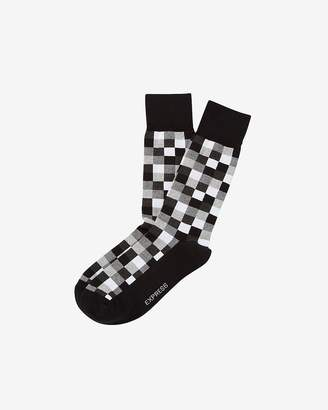 Express Checked Dress Socks