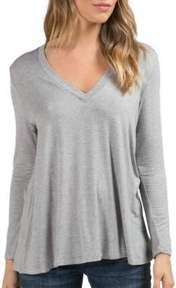 Elan International Deep V-Neck Tunic