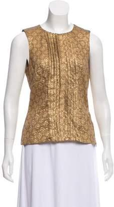 Prada Patterned Silk Top
