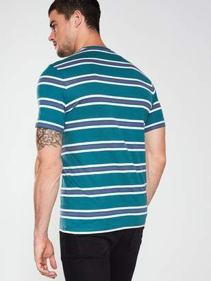 Multi Stripe T-Shirt - Teal