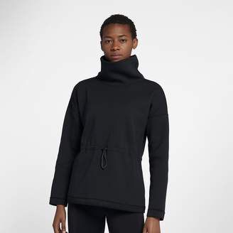 Nike Dri-FIT Women's Cowl-Neck Long-Sleeve Training Pullover