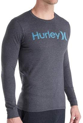 Hurley Mens One And Only Long Sleeve T-Shirt