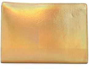 Stella McCartney Iridescent Faux Leather Clutch