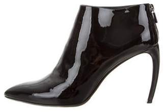 Walter Steiger Patent Leather Ankle Booties