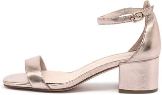 Mollini Taine Rose gold Sandals Womens Shoes Dress Heeled Sandals