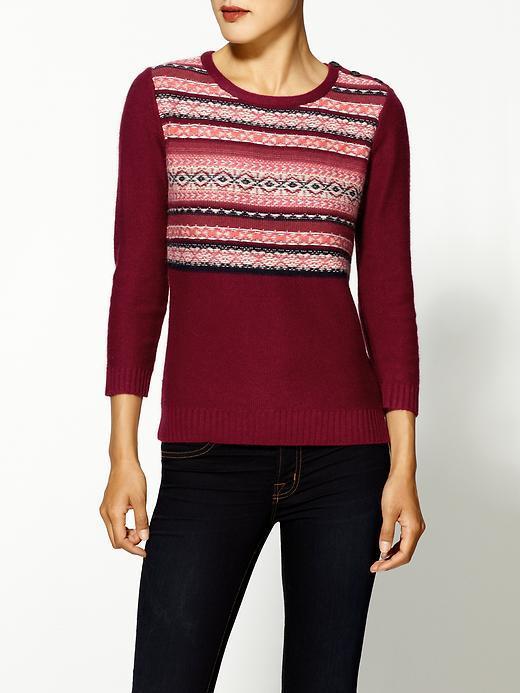 Velvet by Graham & Spencer Jaleesa Fair Isle Sweater
