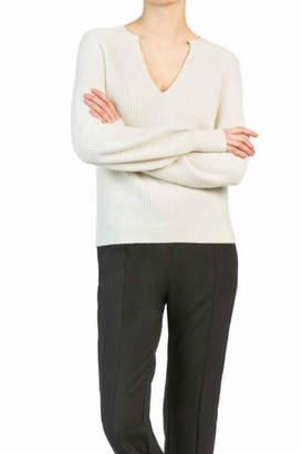 Leo & Sage Split Neck Sweater