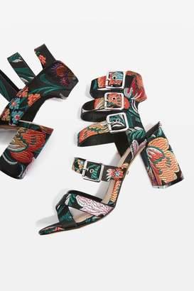 Nova multi buckle sandals