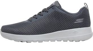 Skechers Womens GOwalk Joy Paradise Trainers Charcoal/White