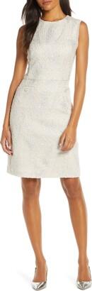 Harper Rose Tweed Sheath Dress