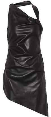 Saint Laurent Leather dress