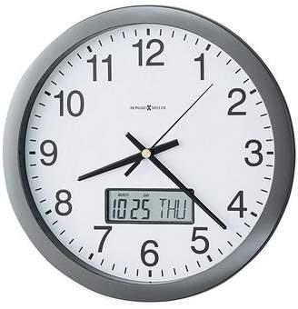 Howard Miller Chronicle Wall Clock, Metallic, 36cm