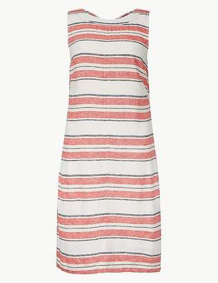 Marks and Spencer Striped Shift Mini Dress