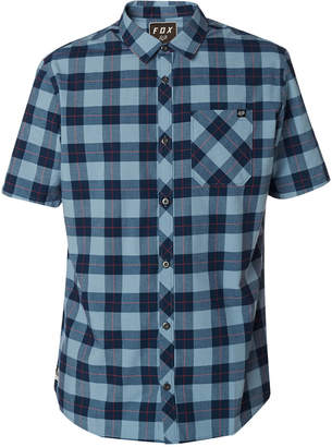 Fox Men's Ash Plaid Button-Up Shirt