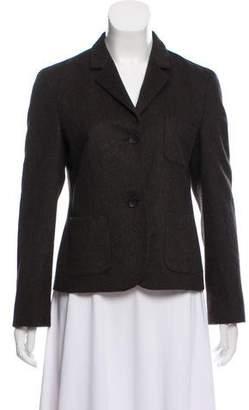 Akris Punto Wool & Angora Blend Casual Jacket