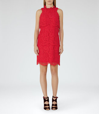 Sophia Tiered Lace Dress $425 thestylecure.com