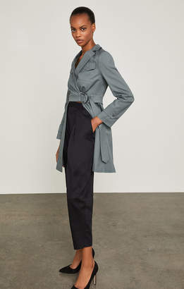 BCBGMAXAZRIA Open-Panel Trench Jacket