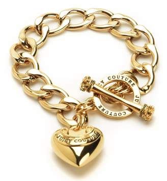 Juicy Couture Banner Heart Starter Bracelet