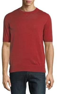 Brunello Cucinelli Cotton Crew Neck T-Shirt
