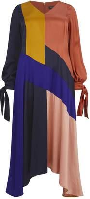 Marina Rinaldi x Roksanda Colour-Block Dress