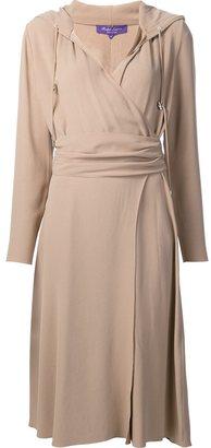 Ralph Lauren back crepe Carley Dress $3,112 thestylecure.com