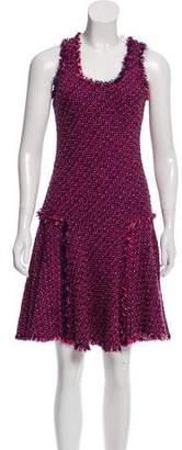Lanvin Knee-Length Tweed Dress