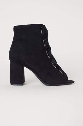 H&M Sandals with Lacing - Black