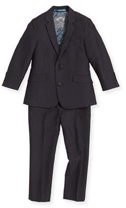 Appaman Boys' Two-Piece Mod Suit, Vintage Black, 2T-14