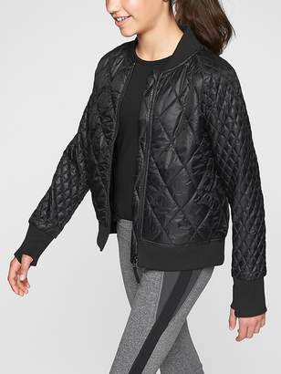 Athleta Girl Brainstorm Bomber Jacket