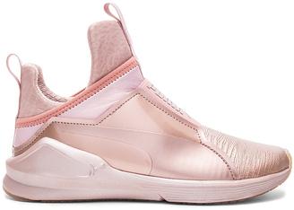 Puma Fierce Metallic Sneaker $100 thestylecure.com