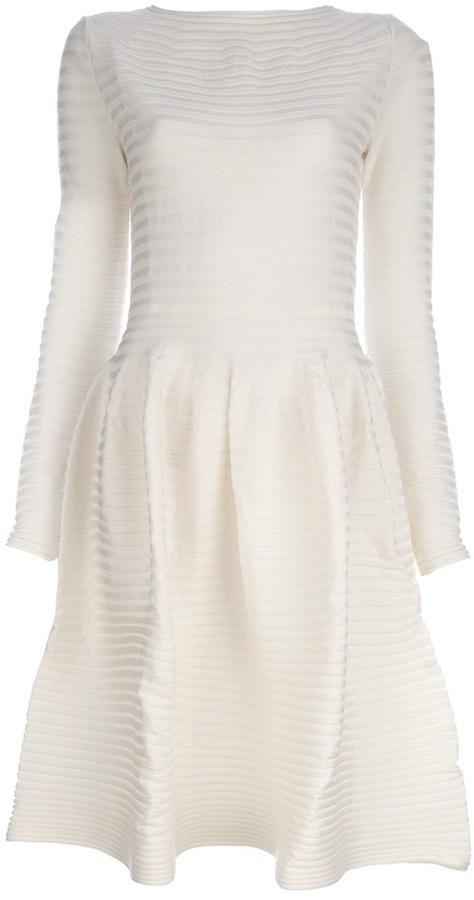Maison Rabih Kayrouz long sleeved dress