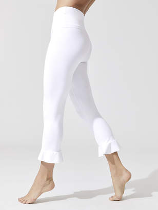 Frill Seeker High Waisted Capri Legging
