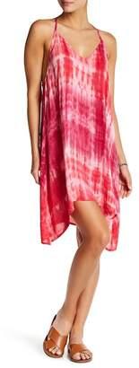 Love Stitch Sleeveless Tie-Dye Dress