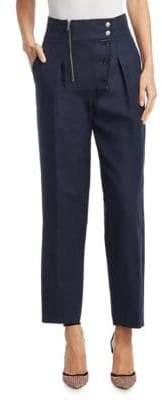 Calvin Klein High-Waist Boiler Pants