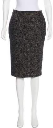 Max Mara Textured Knee-Length Skirt