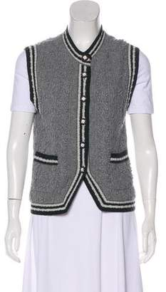 Chanel Cashmere Knit Vest
