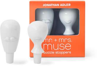 Jonathan Adler Mr. & Mrs. Muse Bottle Stopper Set