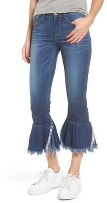 SP Black Ruffle Hem Jeans