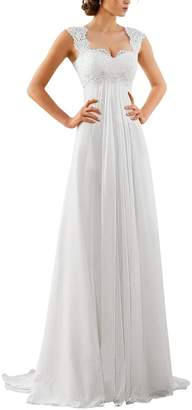 Erosebridal Chiffon Long Evening Party Gowns for Women Beach Formal Dress Gowns Size 26w