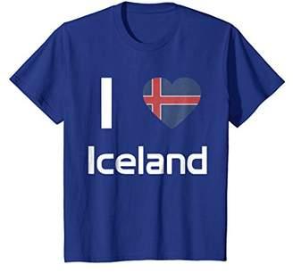 I love Iceland T-shirt Tee Tees T Shirt Tshirt