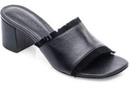Bernardo Blossom Block Heel Slides