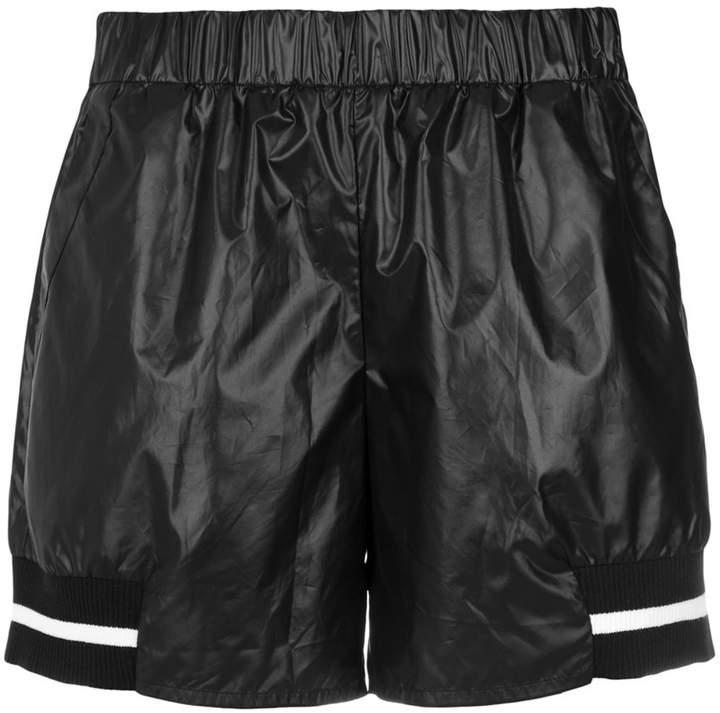 Mara Mac ribbed trimming shorts