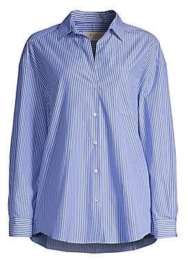 Max Mara Women's Locusta Striped Button-Down Shirt
