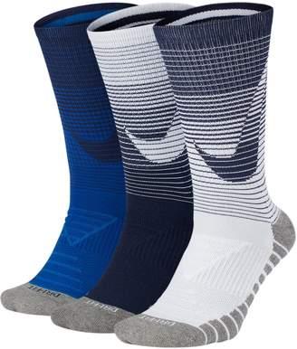 Nike Men's 3-pack Dry Cushioned Performance Crew Socks