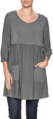 Hartstrings Tonal Stripe Tunic $74 thestylecure.com